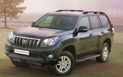 Toyota Land Cruiser. Цена от 1 866 000 до 2 823 000 руб.